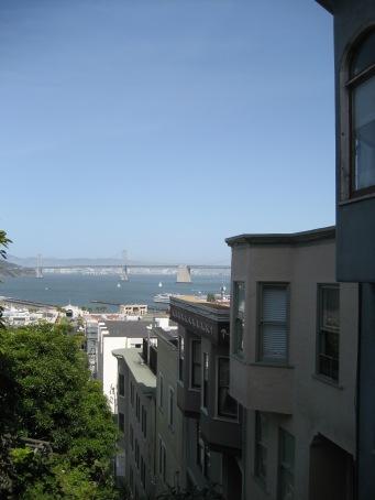 © 2012 S. D. Stewart, San Francisco Bay as seen from Telegraph Hill