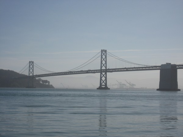 © 2012 S. D. Stewart, San Francisco Bay Bridge