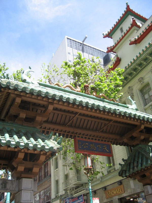 © 2012 S. D. Stewart, Chinatown entrance, San Francisco, California