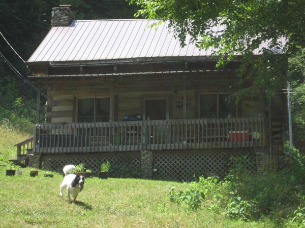 © 2012 S. D. Stewart, Dave & Betty's cabin, Hot Springs, North Carolina