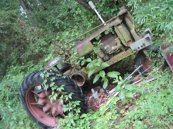Old Tractor, Queen Anne's County, Maryland