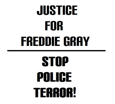 Justice for Freddie
