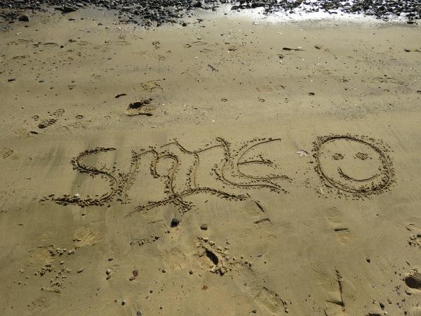 Sand art at North Point State Park, © 2015 S. D. Stewart
