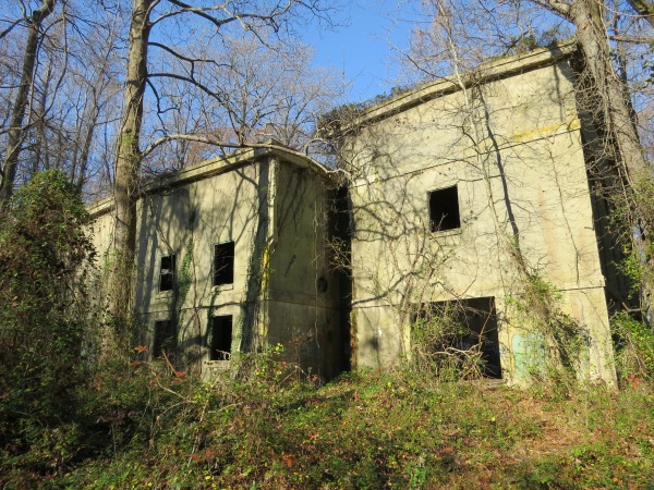 Powerhouse at North Point State Park, © 2015 S. D. Stewart