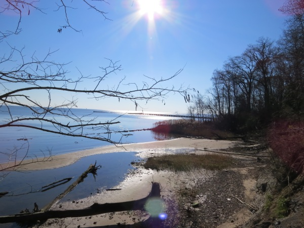 Chesapeake Bay from North Point State Park, © 2015 S. D. Stewart