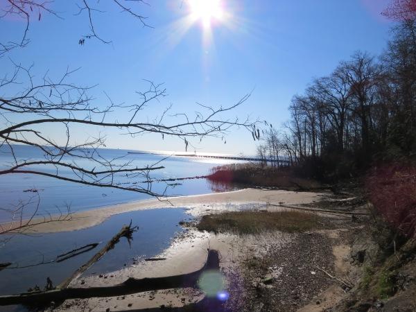 Chesapeake Bay from North Point State Park, © 2015 S. D. Stewart